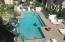View of pool from Master and balcony