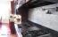 Professional Wolf-6 Burner Gas Cooktop & Griddle, Pot-Filler, & Stainless Steel Tile Back-Splash