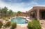 Sparkling Pebble Tec Pool with Water Feature