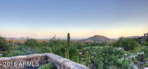 Home overlooks the 1st hole of the Chiricahua Golf Course at Desert Mountain, Scottsdale, AZ. USA