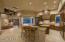 Chef's kitchen Dual Sub Zero refrigerator freezers, Dacor warming drawer, Wolf Cook Center