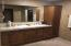Master Bathroom with His and her Vanities