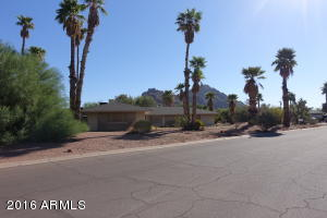 Property and Camelback...picturesque.