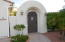 Arched Entry to Private Courtyard