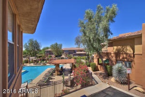 End Unit Located Next to Gorgeous Pool with View from Balcony