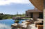 Pool and Spa with Pool Bar and Barbecue Area