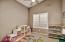 bedroom 3- vaulted ceilings