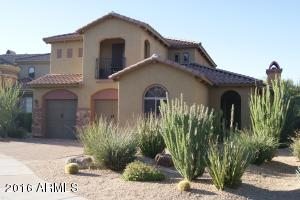 Gorgeous Tuscan Elevation with Desert Landscaped Front Yard