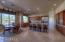 High end stainless steel appliances, dual ovens, large pantry
