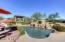 Sparkling pebble-tech pool