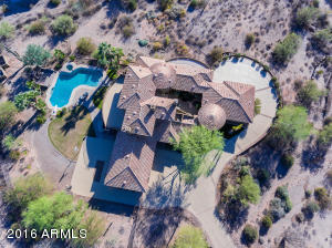 Magnificent estate; 2.5 acres, fully fenced, private, mountain views & city lights