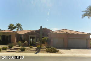 Great Curb Appeal On Model Row 16103 W Desert Cove Way