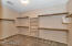 Large walk-in closet in the master!