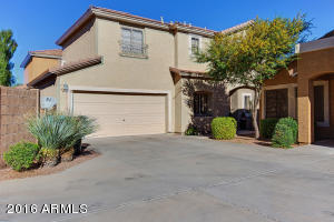 Easy walk to Desert Ridge Marketplace from this beautiful two-story home in Fiesta.