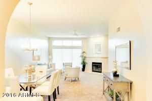 Great room also has formal dining space