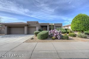 Beautiful single-level home in the 24-hour, manned, guard-gated Raptor Point exclusive neighborhood of Grayhawk!