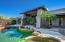EXTREME ENTRANCE FROM THE POOL, COVERED PATIOS.