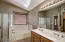 Tub & Shower w/Dual Sinks at Master Suite