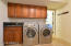 NEW CABINETS & WASHER/DRYING
