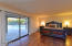 MASTER BEDROOM WITH SITTING ROOM HAS ROMANTIC FIREPLACE, PRIVATE EXIT TO GROUNDS,