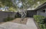 Alternate front entry - private, gated courtyard