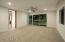 Another bedroom with it's own exit- split floor plan