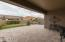 Travertine Patio. Large retractable Awning (closed in this photo) and new pool - 20013