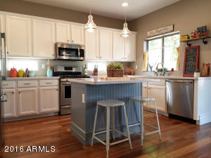 "This remodeled Kitchen screams ""WOW"" ..."