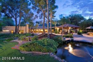 Very private, beautiful and spacious backyard with 2 koi ponds, hot tub and pool with waterfall