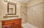 Lower suite bathroom