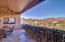 Walk out patio with Mtn views