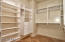 1 of 2 walk in master closets