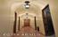Stunning arched hallway