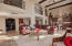 Separate bar and wine cooler in great room