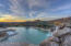 POOL W/WATER FEATURE & SPA @ SUNSET