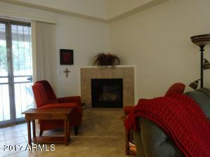 Great room has gas fireplace.