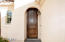 An oversize front door adds richness and elegance.