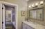 Guest bedroom 2 sink/vanity area