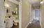Hallway guest full Bathroom