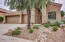 Desert landscaping provides low maintenance. Landscaping on drip system.