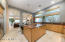 The significantly upgraded chef's kitchen is perfect for the discerning chef!