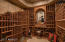 wine cellar for 600+ bottles