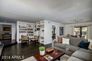 Custom Built- ins in family room