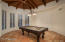 Expansive Billiard and Entertainment Room