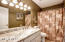 Full bath off hallway