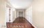Hallway leading to 3 bedrooms including Master