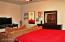 large Master suite 2, downstairs with full bathroom & living room