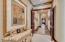Double doorway out of master bedroom