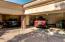 Three-car garage