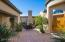 The private courtyard is a beautiful space to enjoy AZ weather.